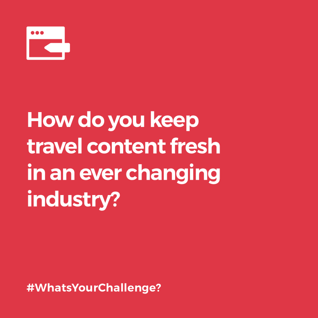 Challenge Quote Travel Content